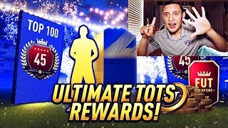 Omg! 6 Tots In 1 Top 100 Ultimate Tots Pack!! Fut Champions Rewards! | Fifa 18 Ultimate Team!