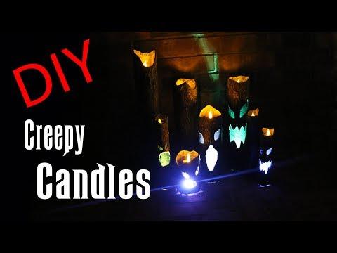DIY Candles - Halloween Prop