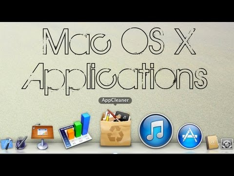 Mac OS X | AppCleaner (Uninstall apps from Mac!)