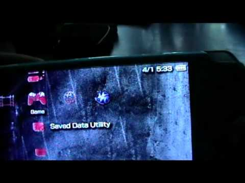 play backed up psp games with pro b9/10 firware installation tutorial