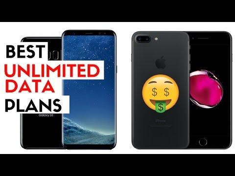 Best Unlimited Data Plan? Verizon vs T-Mobile vs AT&T