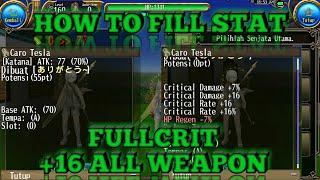 トーラム | Toram Online - Build Skills And Equips ( Dual Sword )