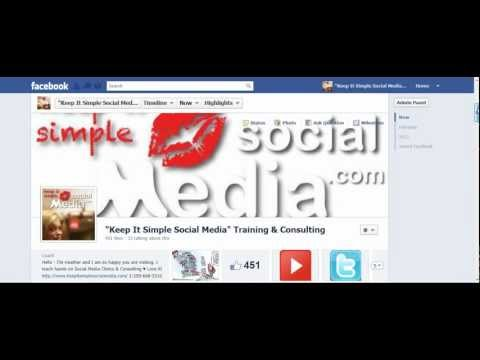 How to Link Your Facebook Business Page to Twitter and then LinkedIn ♥
