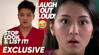 Download Laugh Out Loud with KathNiel! | Stop, Look and List It! Video