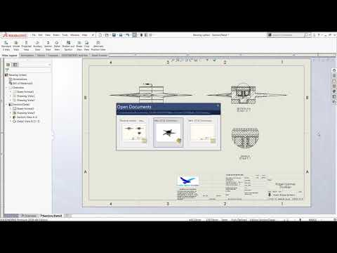 SOLIDWORKS Reusing Deleted Drawing View Labels