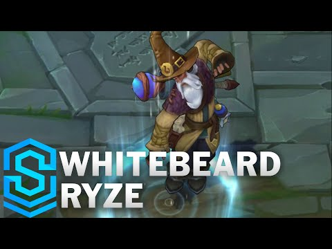 Whitebeard Ryze Skin Spotlight - Pre-Release - League of Legends