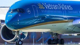 CLOSE UP Take Offs | A380 A350 A340 | Melbourne Airport Plane Spotting