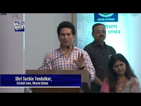 Sachin Tendulkar Stands Behind Rally For Rivers
