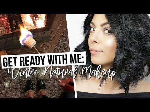 GET READY WITH ME: EASY WINTER NATURAL MAKEUP LOOK + MOM ROUTINE | SCCASTANEDA