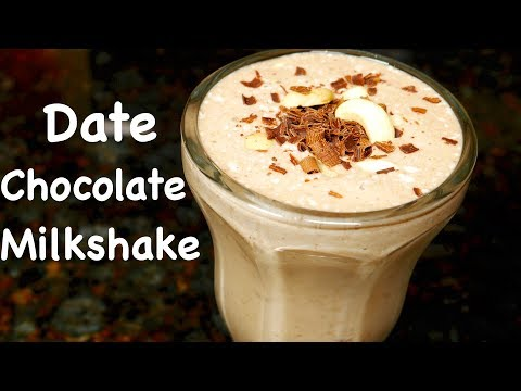 Date Chocolate Milkshake Recipe