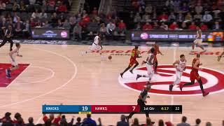2nd Quarter, One Box Video: Atlanta Hawks vs. New York Knicks
