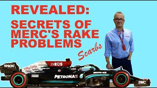 Secrets of Merc's F1 rake problems with Scarbs by Peter Windsor