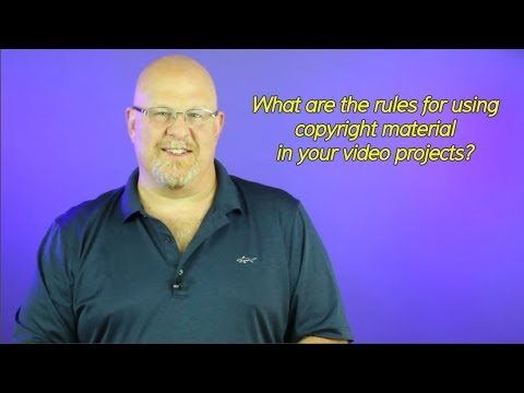 Rules for using Copyright Material in Video Projects - Entertainment Law Asked & Answered