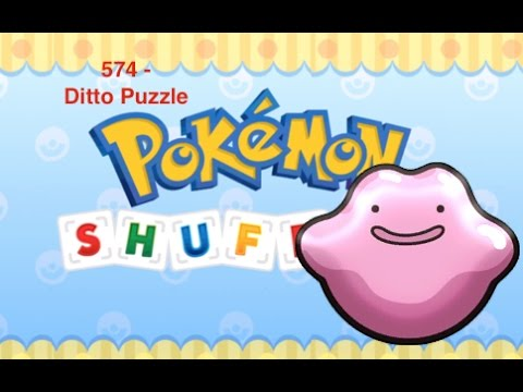 Pokémon Shuffle - How to clear Ditto puzzle (level 574)