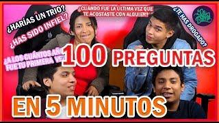 100 PREGUNTAS EN 5 MINUTOS | DeBarrio