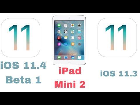 iOS 11.4 BETA 1 Vs iOS 11.3 speed test on iPad mini 2 | iSuperTech
