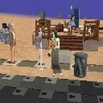 Panhandling:  A New Art For Sims 2