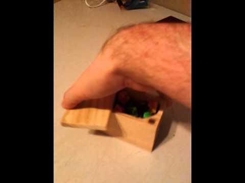 Dice box for RPG dice
