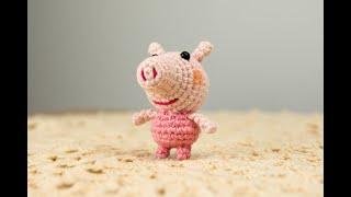 Peppa Pig y su osito amigurumi tutorial. - YouTube | 180x320
