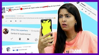 REACTING TO MEAN COMMENTS😭   RICKSHAWALI