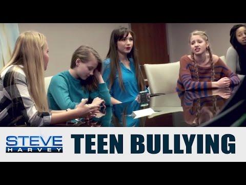 Bullying: Will Teen Girls Speak Up? || STEVE HARVEY