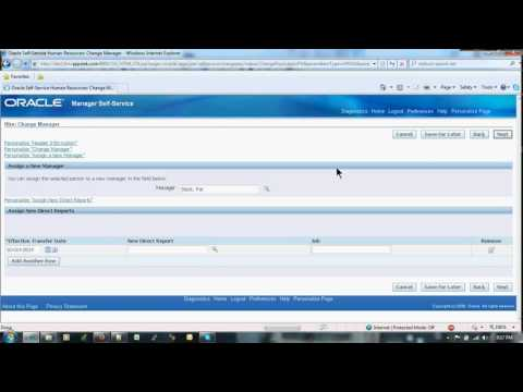 Create an employee as a manager in Oracle R12 apps