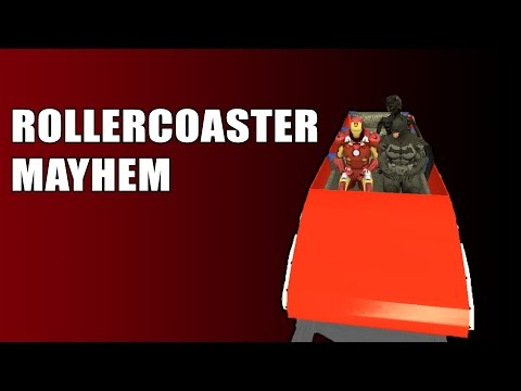 GMOD: Roller Coaster Mayhem