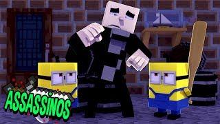 Minecraft: MINIONS ASSASSINOS! (Assassinos)