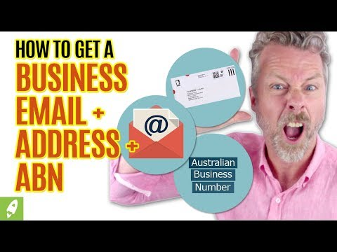 HOW TO GET A BUSINESS EMAIL + ADDRESS + ABN TO SELL ON AMAZON IN AUSTRALIA