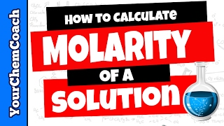 How To Calculate Molarity For A Solution Chemistry