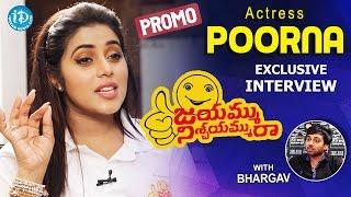 Actress Poorna Exclusive Interview - Promo || #JayammuNischayammuRaa || Talking Movies with iDream