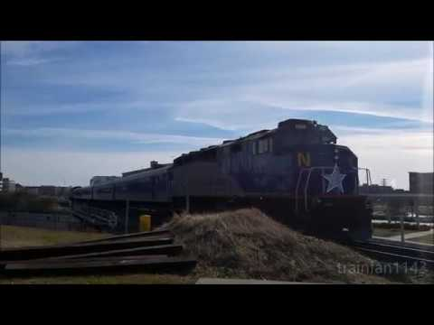 Amtrak Piedmont 75 arriving and departing DNC 1/1/18