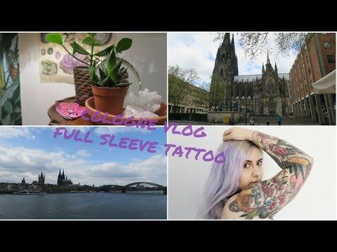 FULL SLEEVE TATTOO || Cologne Vlog