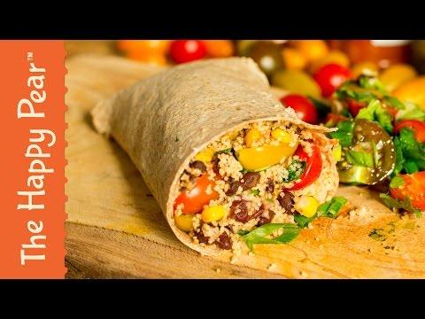 Vegan Burrito in 5 Minutes! | Happy Heart Friendly