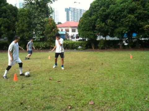 Soccer after service (Teamwork Training)