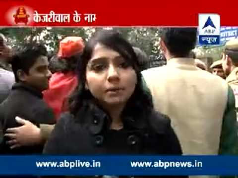 Modi-Modi rings as BJP supporters raise slogans while Kejriwal files nomination