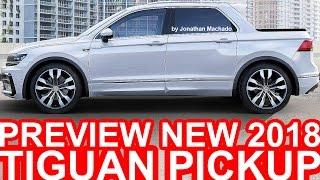 PRÉVIA Novo Volkswagen Tiguan Pickup 2018 #VW