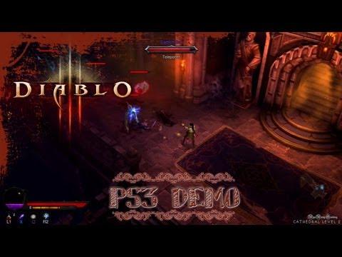 Random Stuff - Diablo 3 (PS3) - DEMO Wizard 5 [Normal -Hard- Difficulty]