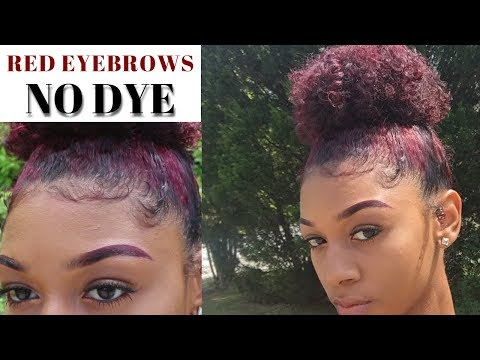 Natural Colored Eyebrow Tutorial 2018