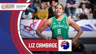 Story Of Liz Cambage Australia To The Olympics FIBA Women39s Olympic Qualifying Tournament 2020