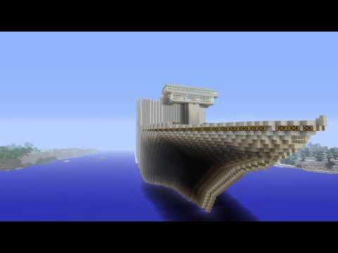 Minecraft: cruise ship build part1 ps4