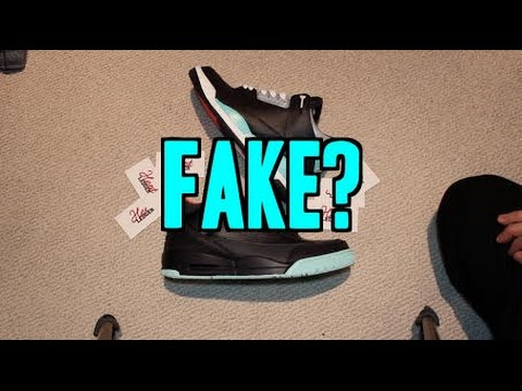 CUSTOM SHOES ARE FAKE?!