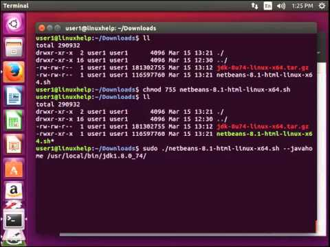 How to install Netbeans and Java JDK in Ubuntu