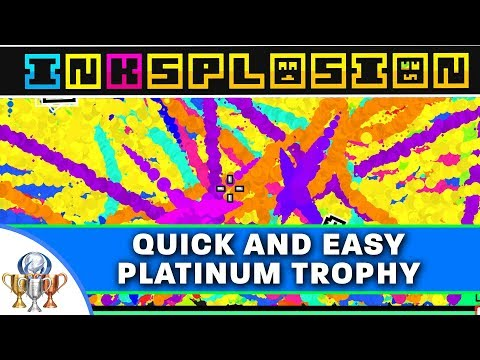 Inksplosion - Full Platinum Trophy Guide Playthrough - Another Quick and Easy Platinum