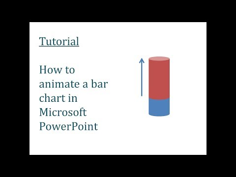 How to animate a bar chart or graph in Powerpoint (Increase)