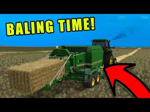FINALLY FINISHED UP THE BARLEY HARVEST! | EP#6 | FARMING SIMULATOR 2017