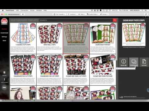 Photo Booth Template Mac to PC Editing Workflow