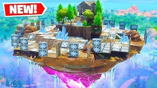 *NEW* Try NOT TO Slide off the FLOATING ISLAND Challenge in Fortnite Battle Royale!