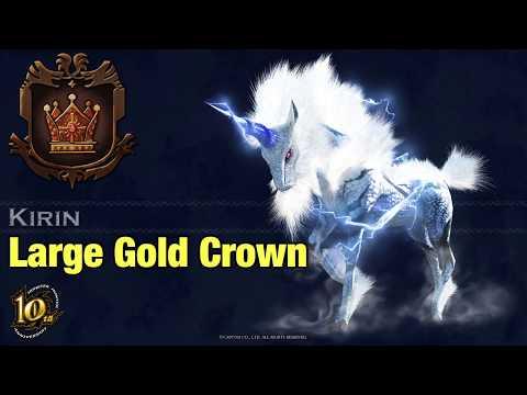 Kirin - Large Gold Crown Measurement - MHW