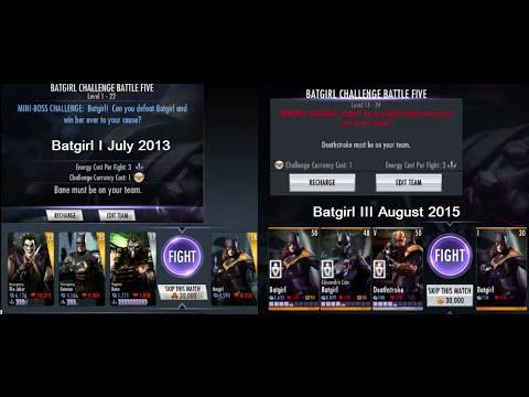 Injustice Gods Among Us iOS - Batgirl III Challenge Full Standard Difficulty